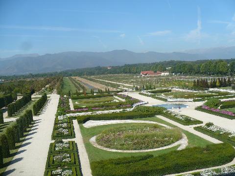 Castello di Venaria Reale, i Giardini